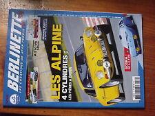 µ? Revue Berlinette mag R12 Gordini & R5 Alpine SCORA B.Dudot  A310 V6 GT 240