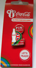 LONDON 2012 OLYMPICS COCA COLA BOTTLE OLYMPIC PARK EXCLUSIVE PIN RIO 2016