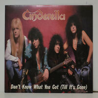 "Cinderella - Don't Know What You Got (Till It's Gone ) + Poster - 7 "" Single"