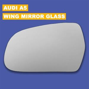 Convex Left side mirror Audi A5 2009-2016