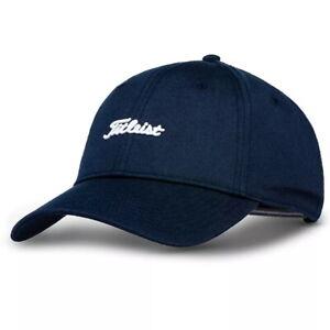 Titleist Mens Nantucket Hat Adjustable Golf Cap - New - Navy