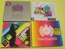 MOS The Annual 2013, 2002, Millennium Clubbers Guide 2009 4 Albums 8 CDS Dance C