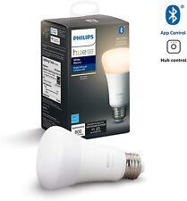 Philips Hue White A19 Dimmable LED Smart Bulb w/ Bluetooth, ZigBee