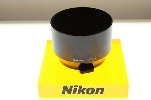 Nikon HS-8 metal lens hood. EXC++ condition. For 105mm f/2.5, 135mm f/3.5 lenses