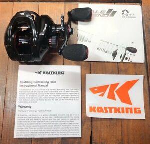 KastKing Royale Legend II 5.4:1 Left Handed Baitcasting Reel Fishing Reel 17.6lb