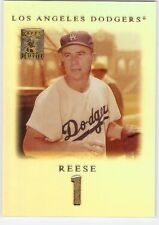 PEE WEE REESE 2001 TOPPS TRIBUTE SET 1 BROOKLYN LOS ANGELES DODGERS HOF