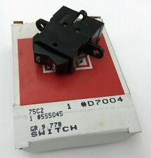 1977-81 REAR WINDOW DEFOGGER SWITCH NEW GM NOS OLD STOCK 555045 / D7004