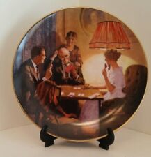 """Rockwell Plate """"This Is The Room That Light Made"""" N 8765 Light Campaign Series"""