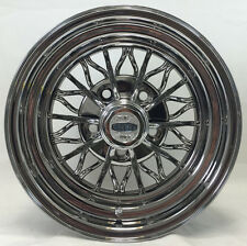 """Starwire Star Wire 30-Spoke Wheels 15 X 7 inches  Set of four  5 on 4.5"""" & 4.75"""""""