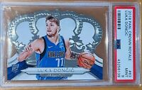 💎🔥2018 Luka Doncic PANINI CROWN ROYALE DIE CUT ROOKIE #63 PSA 9 BGS RC🔥prizm