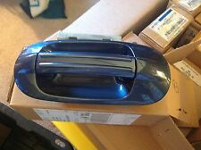 NEW OEM 2003 - 2006 FORD EXPEDITION WEDGEWOOD BLUE RIGHT REAR OUTER DOOR HANDLE