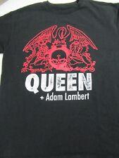 Queen And Adam Lambert 2014 Tour Shirt L