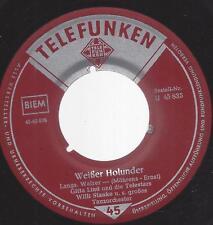 Gitta Lind 1956 :  Wenn wir uns wiederseh' n  + Weisser Holunder