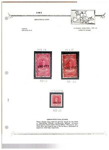 Italy AMG-FTT Trieste Large Revenue Stamp Collection Mint & Used - Group #1