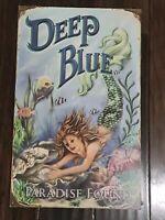 "Deep Blue Paradise Found Mermaid Sea Sign Wall Art 19"" x 12"" Beachcombers 2008"