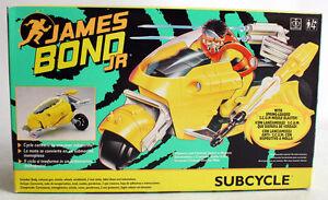 RARE VINTAGE 1992 JAMES BOND JR SUBCYCLE VEHICLE GREEN BOX NEW SEALED !