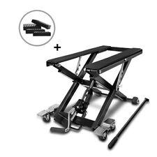 Bequille d'Atelier Cric Moto Hydraulique Lift ConStands  XL noir incl. 4 blocs
