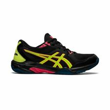 Asics Gel Rocket 10 Men's Indoor Court Shoe (Black/Safety Yellow) - Auth Dealer