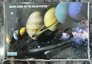 India 2018 Solar System Space Astronomy Complete Maximum Cards Unique Glossy 8v