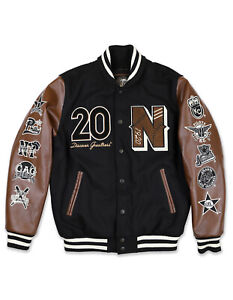 Negro League Baseball Commemorative Jacket Black NLBM Wool Letterman Jacket
