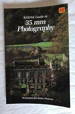 Kodak Guide to 35mm Photography, Softback Book