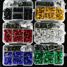Fit For Kawasaki CNC Motorcycle Complete Fairing Bolts Kit Bodywork Screws Nuts