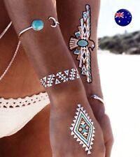 Turquoise Alloy Bangle Fashion Bracelets