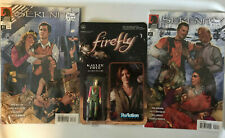 Serenity Firefly Collectible Lot Comics & Kaylee Frye Action figure