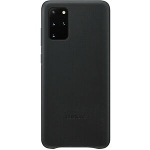 Genuine Samsung Leather Case Suit For Galaxy S20+ - Black (AU Stock) |BRAND NEW|