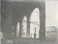 Florence Firenze Italia Foto Amateur Vintage Analogica Ca