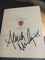 Anna Nordqvist 2013 Solheim Cup Signed Colorado Golf Club signed Scorecard COA