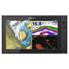 NSS16 evo3 SIMRAD Ecoscandaglio con worldmap di base display HD 16 000-13240-001
