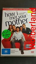 How I Met Your Mother : Season 1 [ 3 DVD Set ] Region 4, NEW & SEALED, FAST Post