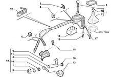 735307538 - Azionamento cambio FIAT Punto TD
