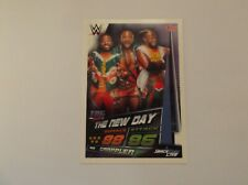 Topps Slam Attax Live-Carte 341-The New Day-Jour équipe