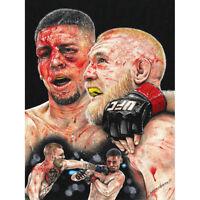 Wayne Maguire Tattooed McGregor Diaz Inked Ikon Canvas Art Print