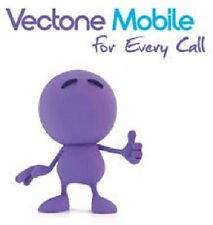 vectone mobile standard/micro/nano sim card -- official pack + free post