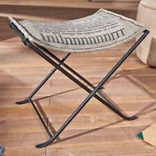 Hocker Sitzhocker beige grau schwarz Woody 148 00212