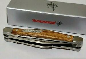 WINCHESTER STAGECOACH HUNTING POCKET KNIFE !!!