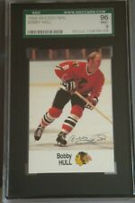 1988-89 ESSO FACSIMILE AUTOGRAPH BOBBY HULL HOCKEY CARD SGC 96 NHL