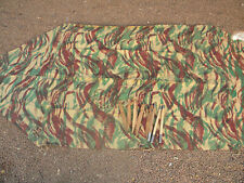 demie toile tente camouflage modele 56 Algérie war shelter french Army TAP PARA