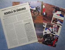 MOTOSPRINT986-PROVA / TEST-1986- APRILIA 125 ETX / 1987 - 3 fogli