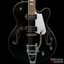 BRAND NEW REVEREND PETE ANDERSON PA-1 SIGNATURE HOLLOW GUITAR W/ BIGSBY BLACK