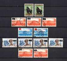 Belgisch Congo Belge Rep. Congo Kinshasa 13 used diff. color/shifted Overprints