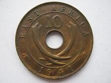 Afrique de l'Est 1941-i bronze 10 cents, nef.