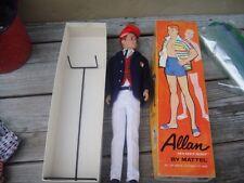 Vintage Barbie Ken Doll 1963 Allan Model #1000 in Original Box