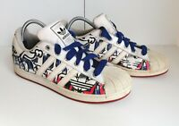 Adidas Superstar 35th Anniversary-Graphic. UK Size 11.5 Used
