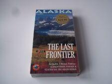 Alaska: The Last Frontier VHS.  Alaska Video Postcards.  New.