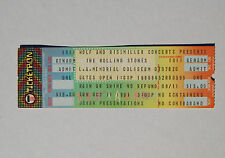 The ROLLING STONES LA Memorial Colesium 1981 UNUSED Concert TICKET Minty! PRINCE