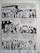 MELLIES LUC HARDY L'ILE AUX REQUINS PLANCHE ARTIMA ANNEES 1950 PAGE 2